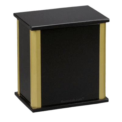Solitude Nero Absoluto Granite Cremation Urns