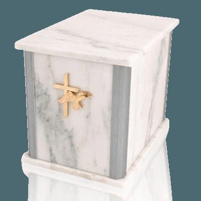 Solitude Silver White Danby Companion Urn