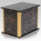 Solitude Tan Brown Granite Companion Urn
