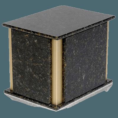 Solitude Verde Granite Companion Urn