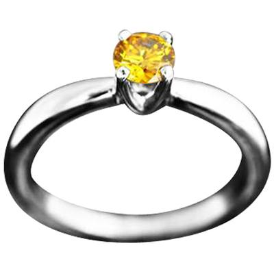 Solstice Solitaire Ring