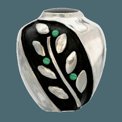 Spirit Malachite Bronze Funeral Urn