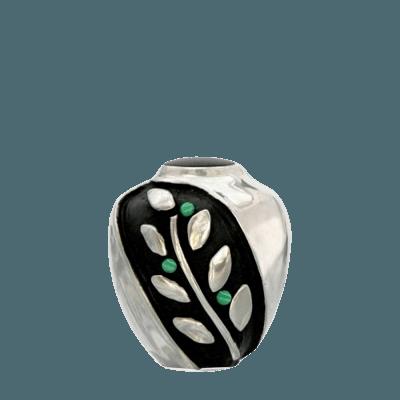 Spirit Malachite Bronze Keepsake Urn