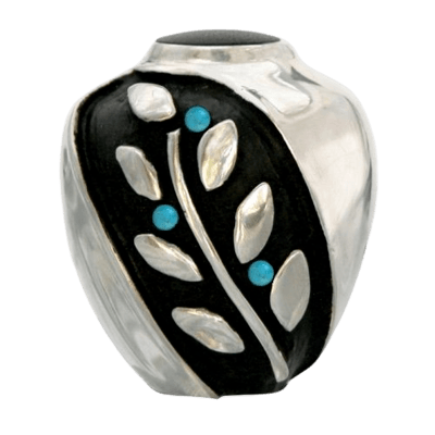 Spirit Turquoise Bronze Funeral Urn