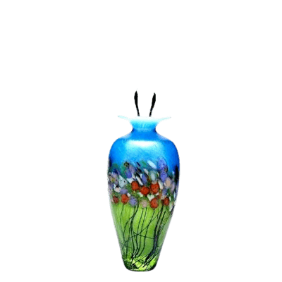 Spring Glass Keepsake Urn