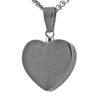 Steel Heart Keepsake Pendant