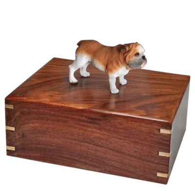 Standing Bulldog X-Large Doggy Urn