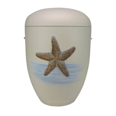 Starfish Biodegradable Funeral Urn
