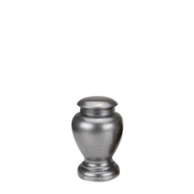 Stormy Small Metal Pet Urn
