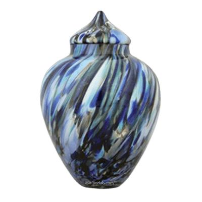 Surf Glass Cremation Urn