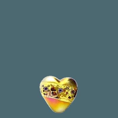 Symbolist Glass Heart Keepsake