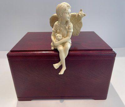 Angel Prayer Cremation Urn