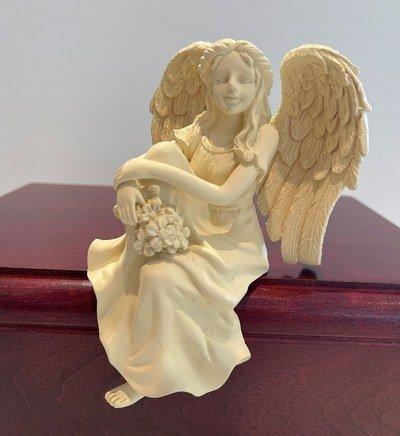 Flower Angel Cremation Urn
