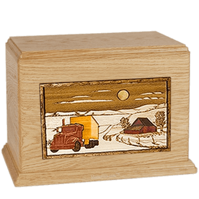 Trucker Maple Companion Urn