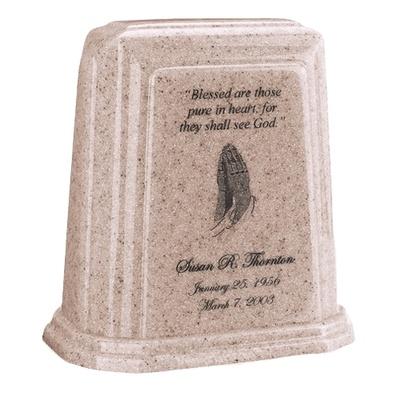 Tablet Millennium Sand Marble Urn