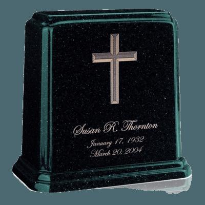 Tablet Emerald Marble Urn
