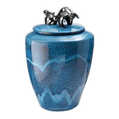 Taurus Ceramic Cremation Urn