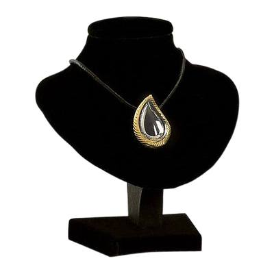 Teardrop Gold & Silver Cremation Pendant
