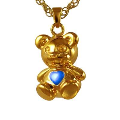 Teddy Bear Blue Keepsake Jewelry IV