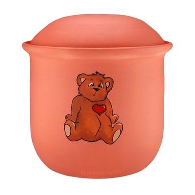 Teddy Bear Child Urn
