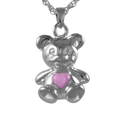 Teddy Bear Pink Keepsake Jewelry