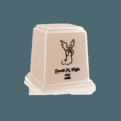 Temple Sand Mini Marble Urn