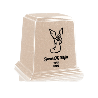 Temple Sand Small Marble Urn