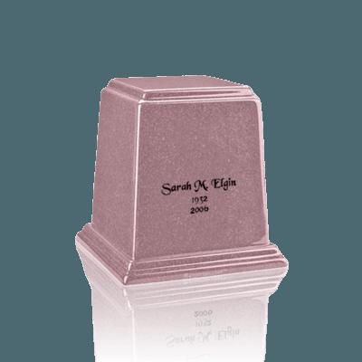 Temple Rose Mini Marble Urn