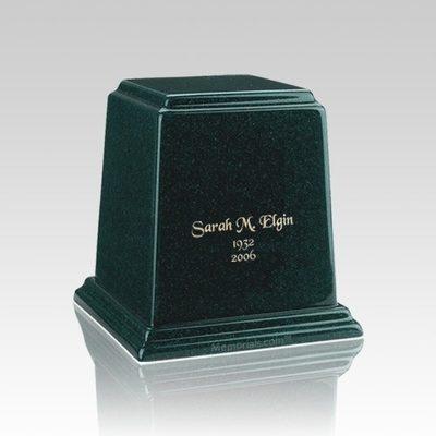 Temple Emerald Keepsake Marble Urn