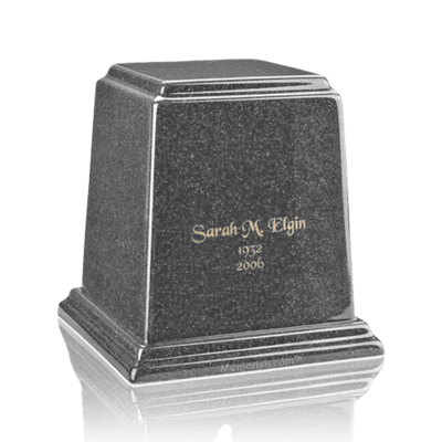 Temple Gray Small Marble Urn