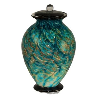 Tide Glass Cremation Urn