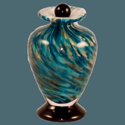 Tide Glass Keepsake Urn