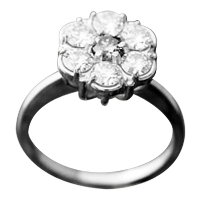 Tiffany Cluster 7 Stones Ring