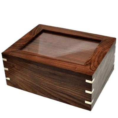 Timber Photo Cremation Urn