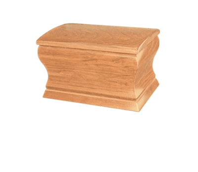 Timberland Wood Cremation Urn
