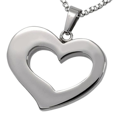 Timeless Heart Cremation Pendant