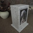 Timeless Photo Stone Pet Urn
