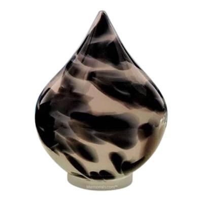 Timeless Tear Glass Pet Urn
