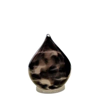 Timeless Tear Small Glass Pet Urn