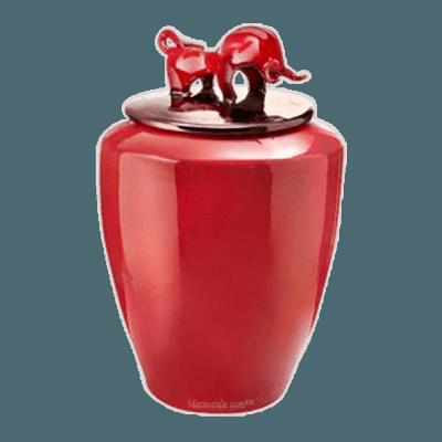 Torero Ceramic Cremation Urn