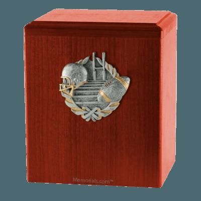 Touchdown Cherry Cremation Urn