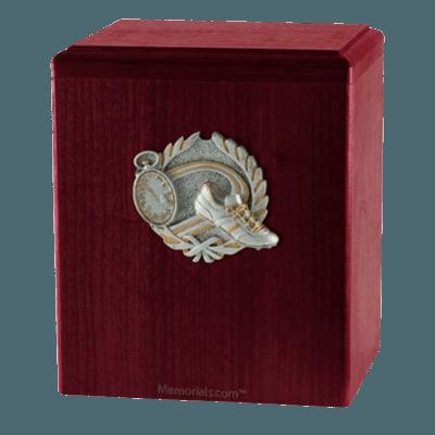 Track Rosewood Cremation Urn