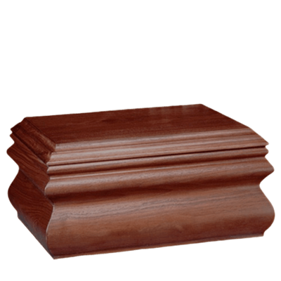 Traditional Mahogany Companion Urn