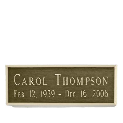 Traditional Urn Engraving Plate