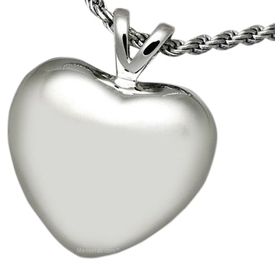 Tranquil Heart Cremation Pendant III