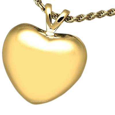 Tranquil Heart Cremation Pendant IV