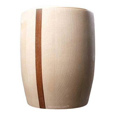 Transcend Wood Cremation Urn