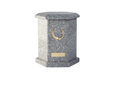 Tuscany Grey Cremation Urn