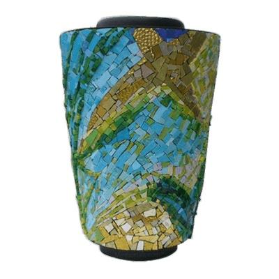 Amazon Mosaic Cremation Urn