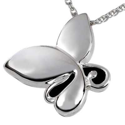 Unique Butterfly Cremation Pendant III